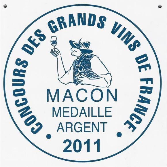 Macon Médaille d'argent 2011